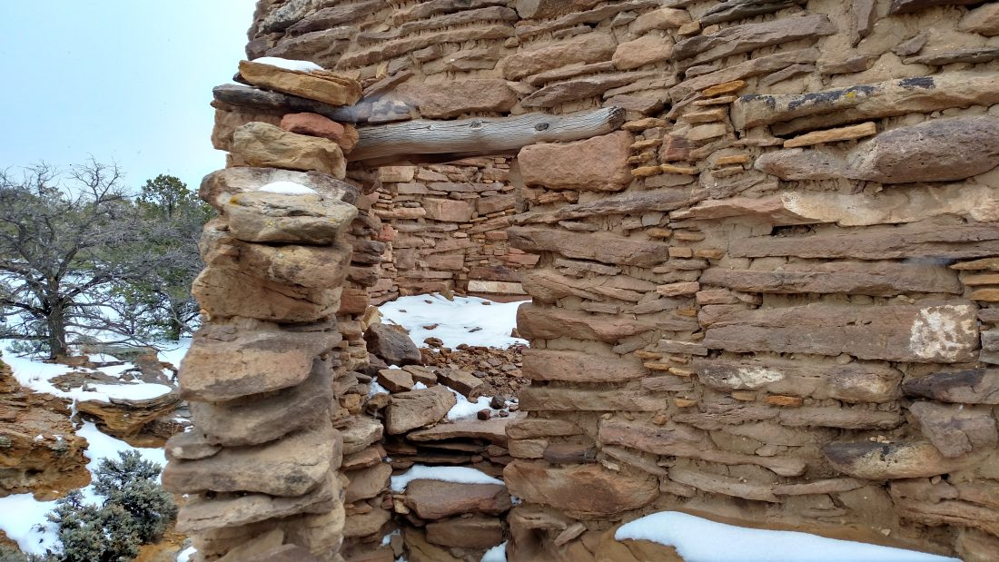 image of Stones stacked as a tower or wall